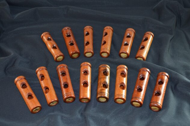 collection of 6 in 1 whistles-small