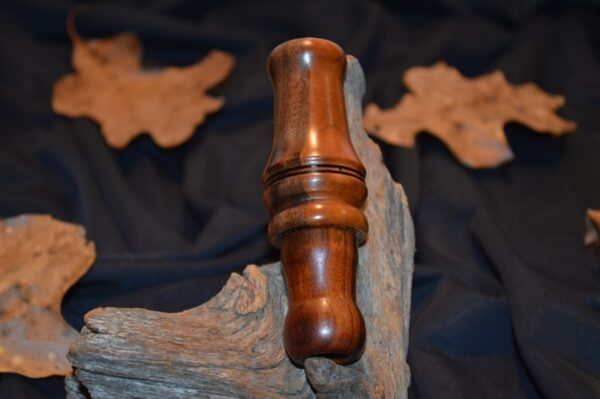 Single reed Cherry striped walnut duck call (1)