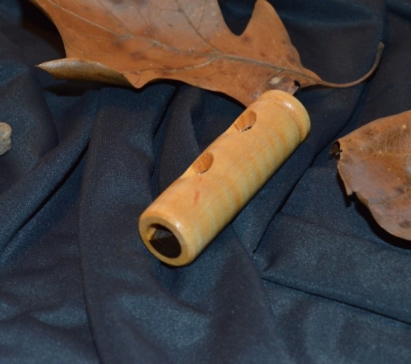 Figured Maple duck call whistle